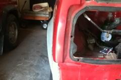 85 Project rear fender